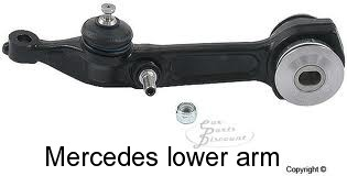 Mercedes lower arm