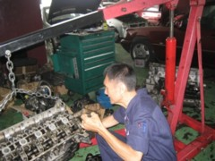 Major car engine rebuilt/overhaul