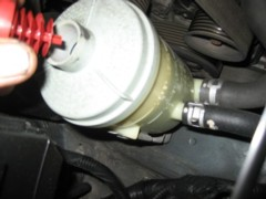Checking of Power steering oil level